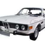 1972 BMW 3.0 CSL (E9) Coupe White Limited Edition to 504pcs 1/18 Diecast Model Car by Minichamps