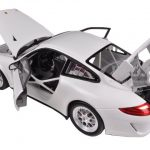 Porsche 911 GT3 CUP White 1/18 Diecast Model Car by Welly