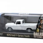 1979 Ford F-Series F-100 Custom Pickup Truck Dallas TV Series (1978-91) 1/43 Diecast Model Car by Greenlight