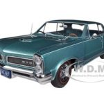 1965 Pontiac GTO Reef Turquoise Irid 1/18 Diecast Car Model by Sunstar