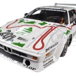 BMW M1 Procar (E26) #201 Stuck/Piquet 3RD Place ADAC 1000KM 1980 1/18 Diecast Car Model by Minichamps