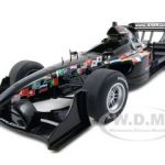 2007 A1 GP Promo Car Formula 1 Black 1/18 Diecast Model Car by Autoart
