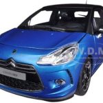 2011 Citroen DS3 Blue / Black 1/18 Diecast Car Model by Norev