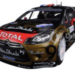 2013 Citroen DS3 #168 Rally France Loeb/Elena 1/18 Diecast Model Car by Norev