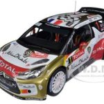 Citroen DS3 #1 WRC Rally Monte Carlo Winner 2013 Loeb / Elena 1/18 Diecast Car Model by Norev