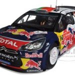 Citroen DS3 #2 WRC Winner Rally Portugal 2011 Ogier/Ingrassia Red Bull 1/18 Diecast Model Car by Norev