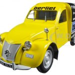 1956 Citroen 2CV Fourgonnette Assistance Berliet 1/18 Diecast Model Car by Norev