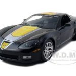 2009 Chevrolet Corvette C6 Z06 GT1 Jake Edition Black 1/24 Diecast Model Car by Greenlight