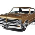 1964 Pontiac GTO Saddle Bronze 1/18 Diecast Car Model by Sunstar