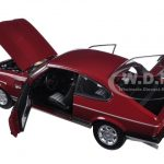 1982 Ford Capri Mk. III 2.8 Injection Red 1/18 Diecast Model Car by Norev