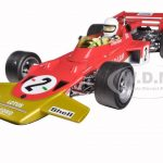 Lotus 72C #2 Jochen Rindt 1970 German Grand Prix Winner Limited Edition to 1500 1/18 Diecast Model Car by Quartzo