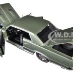 1964 Pontiac GTO Pinehurst Green 1/18 Diecast Model Car by Sunstar