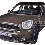 2010 Mini Cooper S Countryman Brown 1/18 Diecast Car Model by Norev