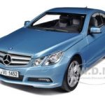 2009 Mercedes E500 E Class Blue 1/18 Diecast Car Model by Norev