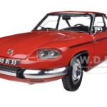 1964 Panhard 24 CT Red 1/18 Diecast Model Car by Norev