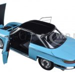 1964 Panhard 24 CT Tolede Blue and Black 1/18 Diecast Model Car by Norev