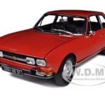 1971 Peugeot 504 Coupe Red 1/18 Diecast Car Model by Norev