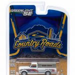1972 Chevrolet C10 Eagle Mod Bod with Small Camper 1/64 Diecast Model by Greenlight