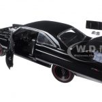 1967 Ford Fairlane 427 R Code Black Limited Edition to 1110pcs 1/18 Diecast Model Car by GMP