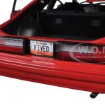 1993 Ford Mustang LX 5.0 Vermillion Red Limited Edition 1/18 Diecast Model Car by GMP