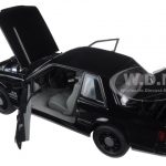 1992 Ford Mustang 5.0 FBI Pursuit Blacked Out Limited Edition to 948pcs 1/18 Diecast Model Car by GMP