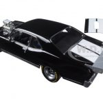 1970 Chevrolet Nova 1320 Kings Blown Drag Car Black with White Stripes Limited Edition to 1074pcs 1/18 Diecast Model Car by GMP