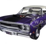 1970 Plymouth Road Runner Convertible In Violet Limited Edition to 1302pcs 1/18 Diecast Model Car by GMP