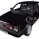 1990 Volkswagen Golf GTi G60 Black 1/18 Diecast Model Car by Norev