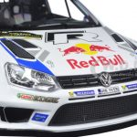 Volkswagen Polo R WRC #1 Red Bull Rally Spain Winner 2014 Ogier/Ingrassia 1/18 Diecast Model Car by Norev