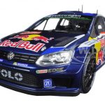 Volkswagen Polo R WRC #2 Red Bull Rally Monte Carlo 2015 Latvala/Anttila 1/18 Diecast Model Car by Norev