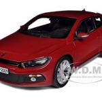 2008 Volkswagen Scirocco Salsa Red 1/18 Diecast Model Car by Norev