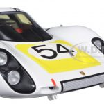 Porsche 907 #54 Winner Daytona 24H 1968 V. Elford/ J. Neerpasch/ J. Siffert/ H. Herrmann 1/18 Model Car by Spark