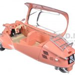 Messerschmitt KR200 Bubble Car Rose 1/18 Diecast Model Car by Oxford Diecast