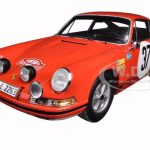1969 Porsche 911 S #37 Monte Carlo Rally Winner B. Waldegaard/L. Helmer 1/18 Model Car by Spark