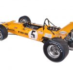 F1 McLaren M7A #5 Winner Mexican GP 1969 Denny Hulme 1/18 Model Car by Spark