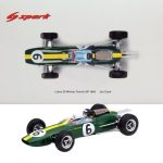 Lotus 25 #6 Winner French GP 1965 Jim Clark 1/18 Model Car by Spark