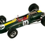 1967 Lotus 33 BRM #14 Monaco GP 2ND Graham Hill 1/18 Model Car by Spark