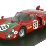 1968 Alfa Romeo 33/2 #39 4th Le Mans I.Giunti/Nanni Galli 1/18 Model Car by Spark