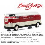1950 General Motors Futurliner Parade of Progress #11 March of Tools 2015 Barrett Jackson Edition Hobby Exclusive 1/64 Diecast Model by Greenlight