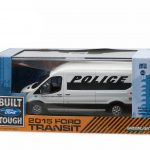 2015 Ford Transit (V363) Police Prisoner Transport Vehicle In Display Case 1/43 Diecast Model Car by Greenlight