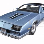 1982 Chevrolet Camaro Light Blue 1/18 Diecast Model Car by Sunstar