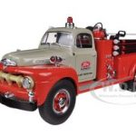 1951 Ford F-Series Pumper Tractor Plant Protection 1/34 Diecast Model by First Gear