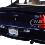 2000 Chevrolet Monte Carlo SS Navy Blue 1/18 Diecast Model Car by Sunstar