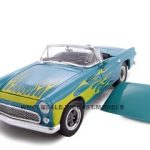 1956 Ford Thunderbird  Blue Street Rod 1/24 Diecast Car by Unique Replicas