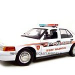 Ford Crown Victoria West Warwick Ri Police Car 1/18 Diecast Model Car by Motormax