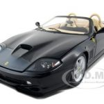 Ferrari 550 Barchetta Pininfarina Black Elite Edition 1/18 Diecast Model Car by Hotwheels