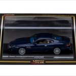 Aston Martin DB7 Vantage Mandip Blue Limited Edition 1 of 1080 Produced Worldwide 1/43 Diecast Model  by Vitesse