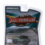 2015 Jeep Wrangler Rubicon Hard Rock Tank Green All Terrain Series 1 1/64 Diecast Model Car by Greenlight
