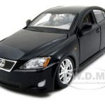 Lexus IS 350 Black 1/24 Diecast Model Car by Bburago