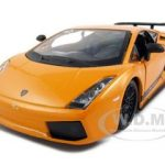 Lamborghini Gallardo Superleggera Orange 1/24 Diecast Model Car by Bburago